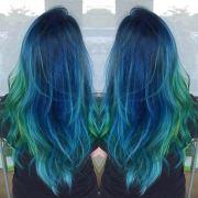 blue hair color ideas daring