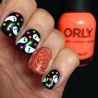 35 Cute and Spooky Nail Art Ideas for Halloween | StayGlam