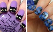 cute and spooky nail art ideas