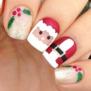 christmas nail art design &