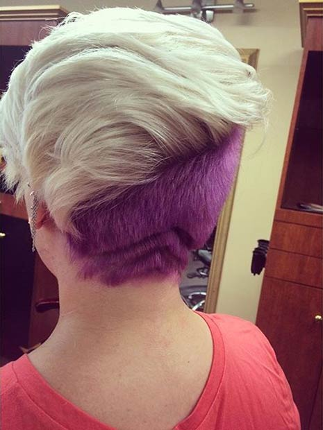 21 Looks That Will Make You Crazy For Purple Hair Page 2