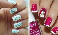31 Cute Winter-Inspired Nail Art Designs | StayGlam