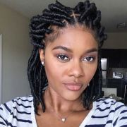 faux loc styles african-american