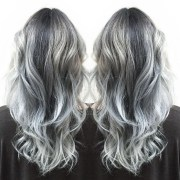 stunning grey hair color ideas
