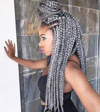 41 Chic Crochet Braid Hairstyles for Black Hair | Page 2 ...