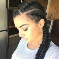 31 Goddess Braids Hairstyles for Black Women | StayGlam
