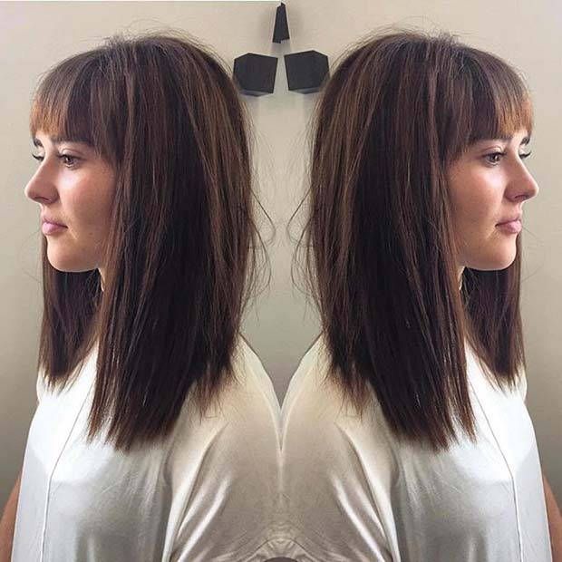 31 Lob Haircut Ideas For Trendy Women StayGlam Page 3