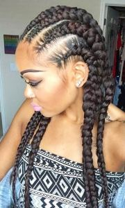 stylish ways rock cornrows
