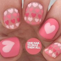 35 Cute Valentine's Day Nail Art Designs | StayGlam