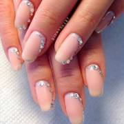 elegant wedding nail art design