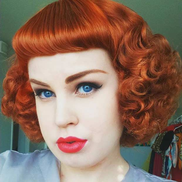 21 Pin Up Hairstyles That Are Hot Right Now  StayGlam