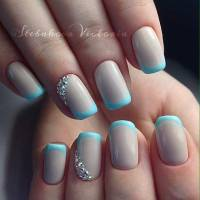 31 Cool French Tip Nail Designs | StayGlam