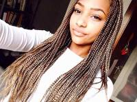 41 Beautiful Micro Braids Hairstyles