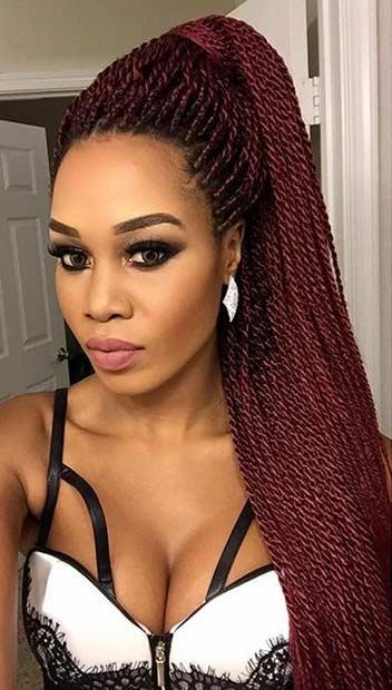 61 Beautiful Micro Braids Hairstyles  StayGlam