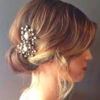 31 Wedding Hairstyles for Short to Mid Length Hair | StayGlam