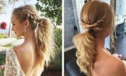 elegant ponytail hairstyles