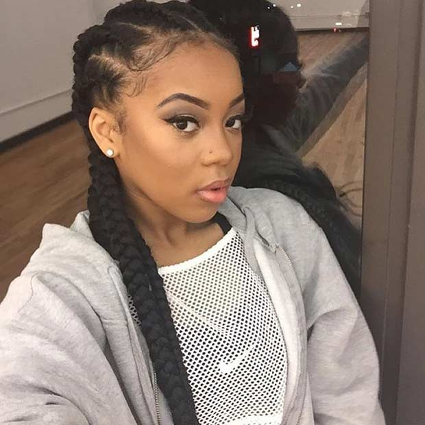 31 Best Ghana Braids Hairstyles Page 2 Of 3 StayGlam