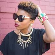 short natural hairstyles