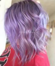 beautiful lavender hair color