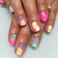 35 Bright Summer Nail Designs | StayGlam
