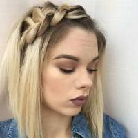 17 Chic Braided Hairstyles for Medium Length Hair