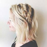 17 Chic Braided Hairstyles for Medium Length Hair | Page 2 ...