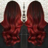 31 Best Red Ombre Hair Color Ideas | Page 2 of 3 | StayGlam