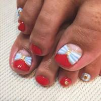 25 Toe Nail Designs that Scream Summer