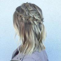 17 Chic Braided Hairstyles for Medium Length Hair   Page 2 ...