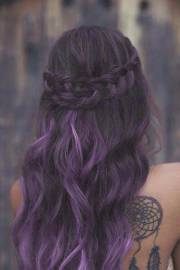 bold and trendy dark purple