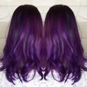 grape hair dye hairstyles