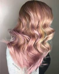 23 Trendy Rose Gold Hair Color Ideas | StayGlam