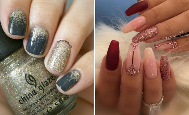 31 Snazzy New Year's Eve Nail Designs