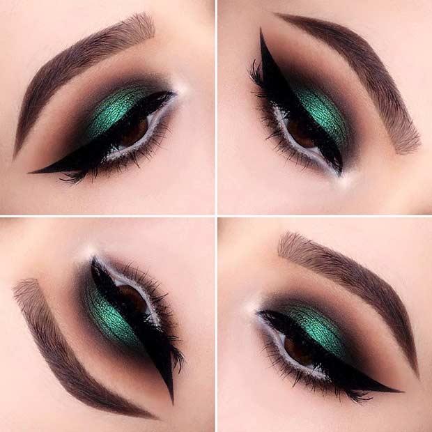 23 Christmas Makeup Ideas To Copy This Season Crazyforus - Christmas-makeup