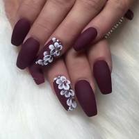 25 Cool Matte Nail Designs to Copy in 2017   StayGlam