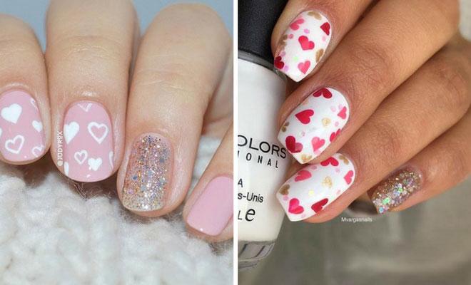 27 Pretty Nail Art Designs for Valentine's Day