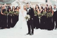 17 Bridesmaid Style Ideas for a Winter Wedding | StayGlam