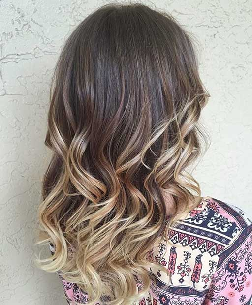 27 Stunning Blonde Highlights For Dark Hair Page 2 Of 3