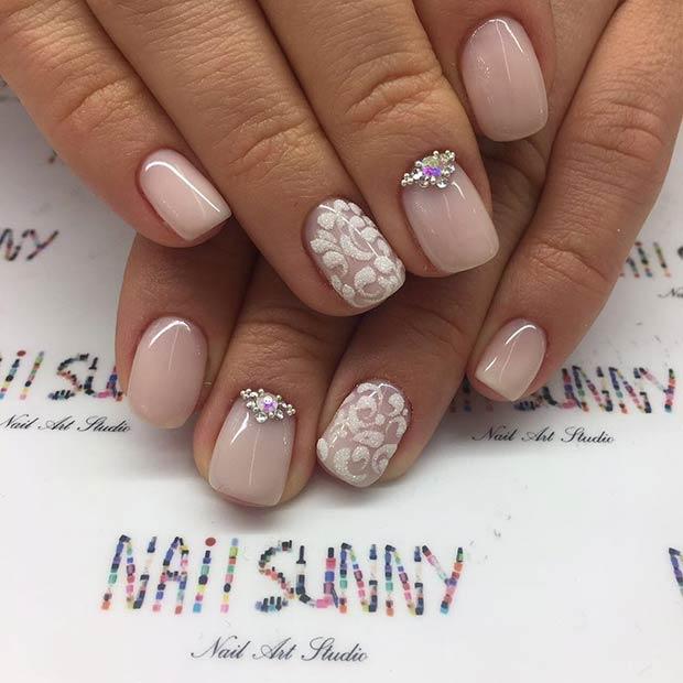 13 More Elegant Nail Art Designs for Prom 2017