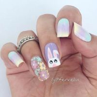 10 Easy and Simple Easter Nail Art Designs - crazyforus