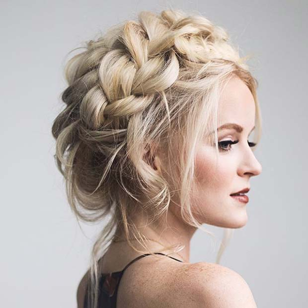 21 Beautiful Hair Style Ideas For Prom Night StayGlam