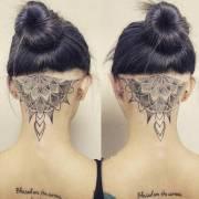 trendy mandala tattoo ideas