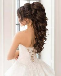 23 Gorgeous Half-Up Wedding Hair Ideas - crazyforus