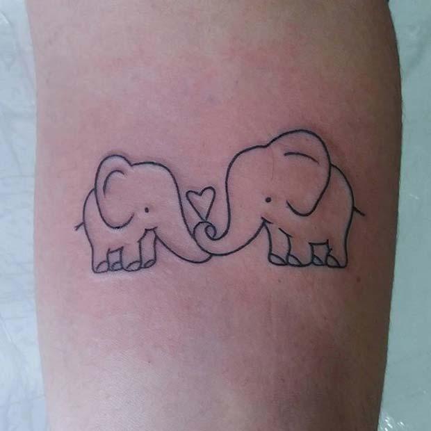 21 Cool and Creative Elephant Tattoo Ideas - crazyforus