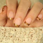 elegant nail design short