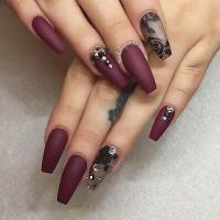 23 Must Have Matte Nail Designs for Fall   Page 2 of 2 ...