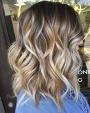 stylish lob hairstyles fall