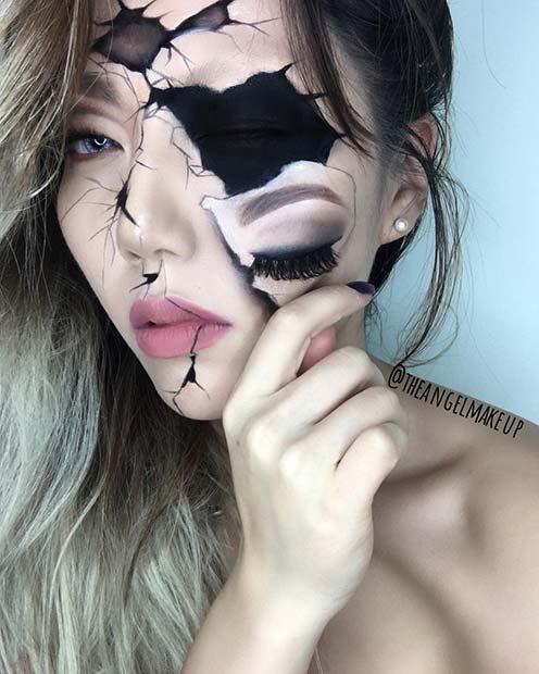 Illusion Halloween Makeup