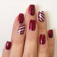 29 Festive Christmas Nail Art Ideas - crazyforus