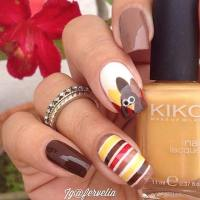 21 Cute Thanksgiving Nail Ideas | Page 2 of 2 | StayGlam